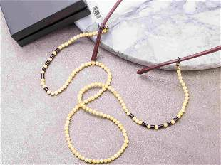 Glasses chain made from Natural Baltic AMBER
