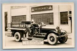 STUTZ FIRE ENGINE CO TRUCK INDIANAPOLIS IN ANTIQUE REAL