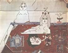 Saul Steinberg: Persian Rug (no text)