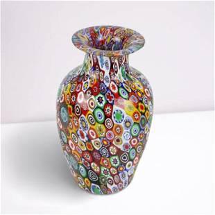 Murano Glass - Millefiori Mix Vase