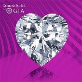 3.34 ct, Color D/VS1, Heart cut GIA Graded Diamond