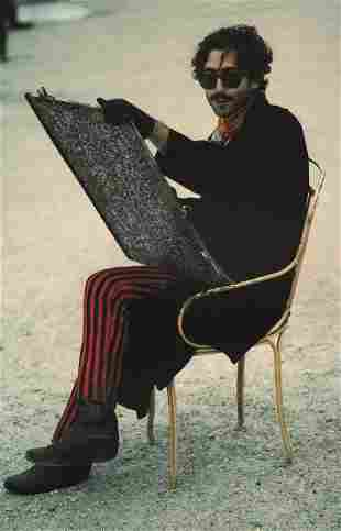 RALPH GIBSON - Artist with Red Pants