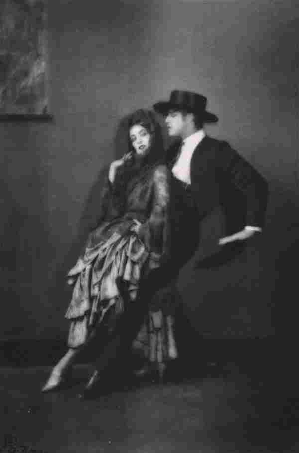 E. O. HOPPÉ - Ted Shawn & Martha Graham in Malaguena,
