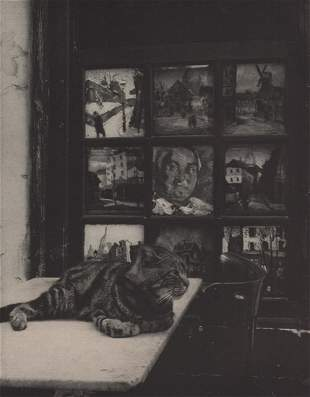 IZIS BIDERMANUS - Cat, France, ca 1950