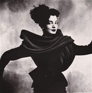 IRVING PENN - Regine, Balenciaga Suit, Paris, 1950