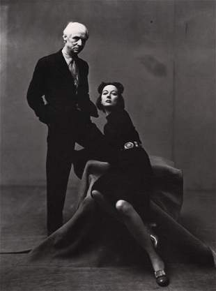 IRVING PENN - Max Ernst & Dorothea Tanning in NY, 1947