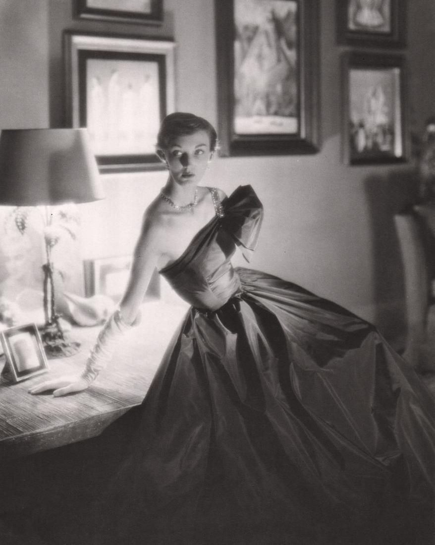 GEORGE PLATT LYNES - Fashion Study for Vogue,1948