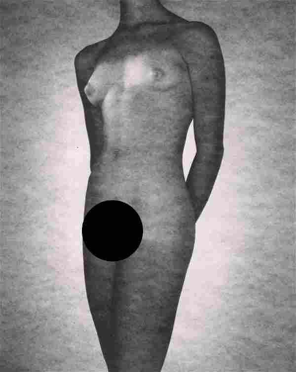 GEORGE PLATT LYNES - Female Nude,1951