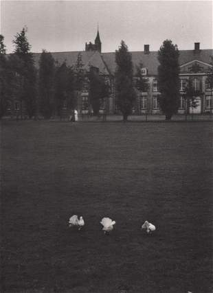 WILLY RONIS - The Convent of Tongerloo near Anvers,