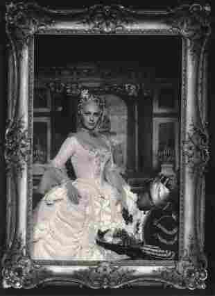 RAYMOND VOINQUEL -Martine Carol, Madame du Barry, 1954,