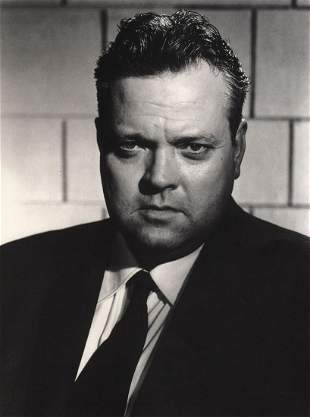 RAYMOND VOINQUEL - Orson Wells in Drama in the Mirror,