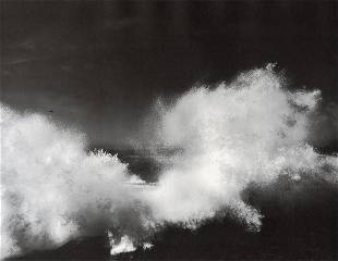 ANSEL ADAMS - Surf Point, Lobos State Reserve, 1963
