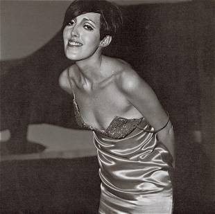 DIANE ARBUS - Girl in a Shiny Dress, NYC, 1967