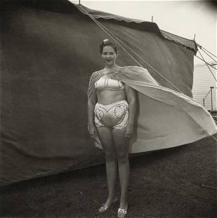 DIANE ARBUS - Girl in Her Circus Costume, M.D. 1970