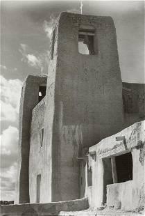 MARGARET BOURKE-WHITE - Acoma Pueblo, Church, 1935