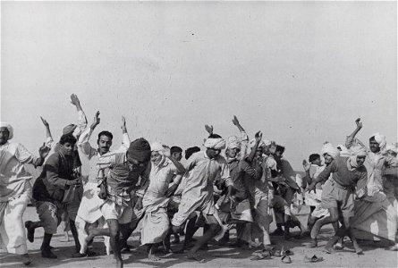 HENRI CARTIER-BRESSON - Games in Refugee Camp, 1948