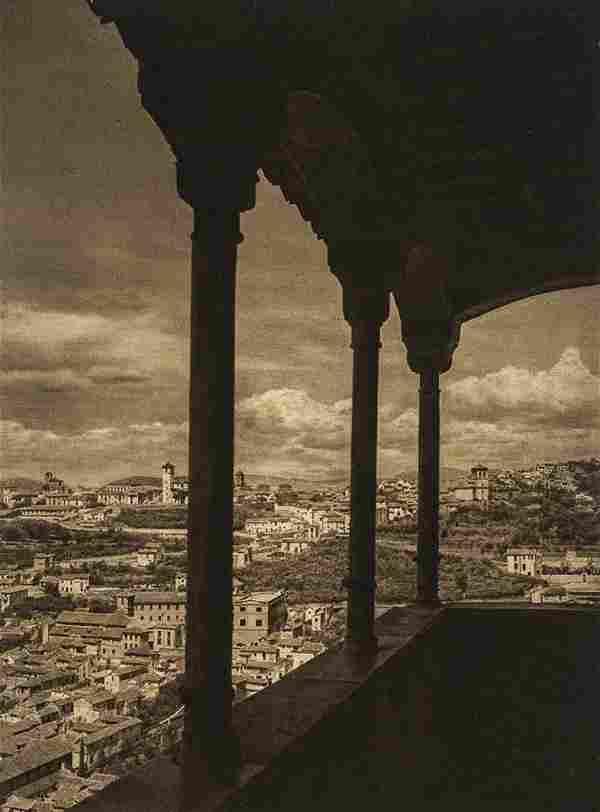 KURT HIELSCHER - Granada-Alhambra, View of Albacin