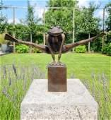 Acrobatic frog - Bronze frog - Garden and home