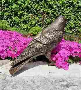 Lifelike bronze bird - Garden statues - Garden