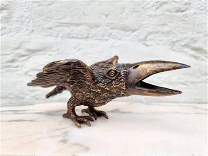 Special bronze bird - Curiosities - Oddities