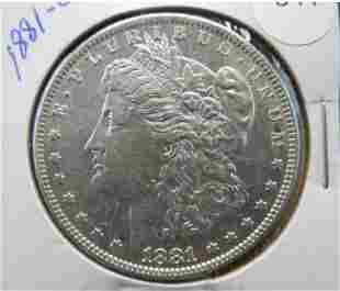 BEAUTIFUL 1881-O Morgan Dollar