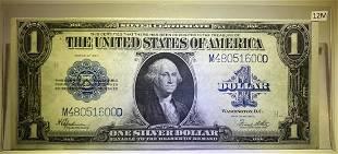 1923 $1 SILVER CERTIFICATE BLUE SEAL