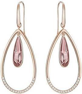 New Swarovski Lisanne Hoop Pierced Earrings