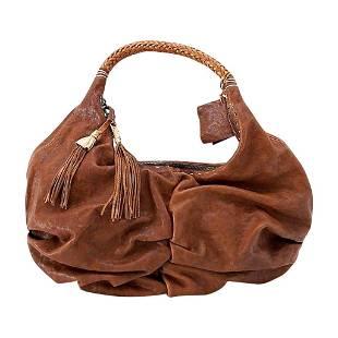 Henry Beguelin Bag Washed Leather Tassels Heaps Details