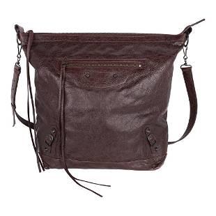 Balenciaga Bag Iconic Flat Messenger / Cross Body Arena