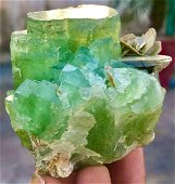 1394 Carats Well Terminated Natural Green Color