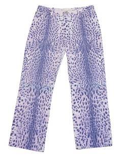 Roberto Cavallo Purple Leopard Jeans