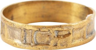 MEDIEVAL SORCERER'S RING, 8TH-11TH CENTURY, SIZE