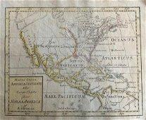 North America , RARE Swedish issue by A. Akerman
