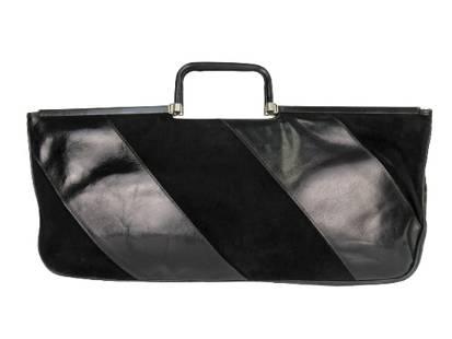 """""""BOTTEGA VENETA"""" Vintage leather and suede handbag"""