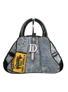 """CHRISTIAN DIOR"" Mini Boring Diorella handbag"