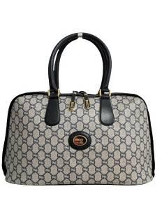 """""""GUCCI"""" Vintage """"Boston Plus"""" handbag in monogram"""