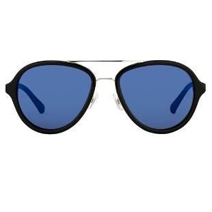 Phillip Lim Sunglasses Black and Blue Mirror