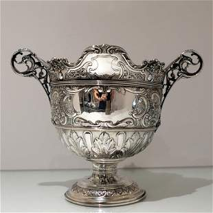 Early 20th Century Antique Edwardian Silver Bowl