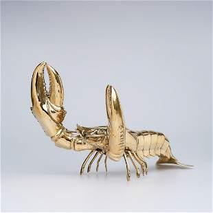 Sooka Interior - Large Lobster Sculpture - Bronze
