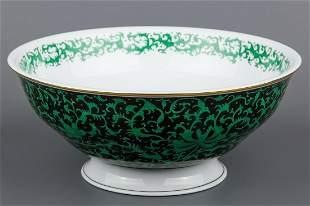 Herend PiVoine Imperiale Masterpiece Round Fruit Bowl