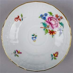Herend Nanking Bouquet Saucer #1727/NB