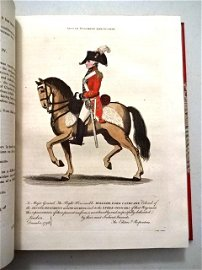 1799 British Military Journal Beautiful Plates