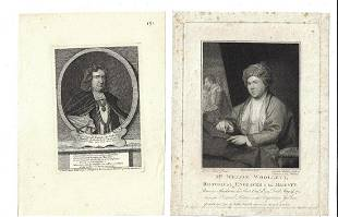 18th C Lot of Engraving British Notables