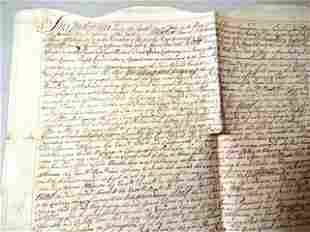 1766 English Indenture Cheapside Property
