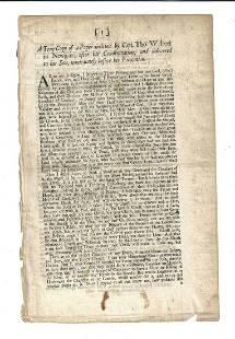 1683 Traitor Walcott Speech Before Execution