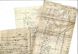 1827 New York Merchant Ledger