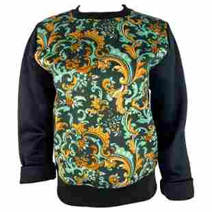 Paco Rabanne Navy and Multicolor Long Sleeves