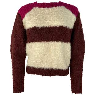 Isabel Marant Multicolor Mohair Pullover Sweater, Size