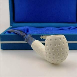 Classic Golf Ball Style Meerschaum Pipe