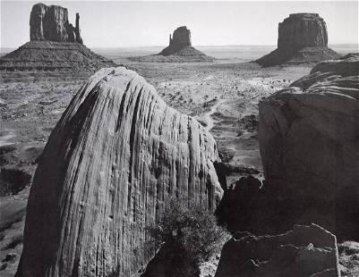 ANSEL ADAMS - Monument Valley, Utah, 1958